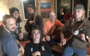 Hamakua Uprising... an evening of music with M. Kalani Souza and friends at Hi'ilani EcoHouse in Honoka'a on Sunday, January 8, 2017! He was joined by Dagan Bernstein, Thomas Kearns, Adam Crowe, Jeff Quin, Chris Shaeffer, Larry Miller, Brad Bordessa and others.