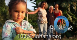 10000 Homegrown FoodForests, a project of the Olohana Foundation